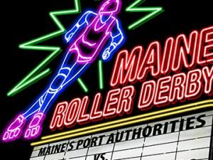 Roller Derby Poster: June 2011