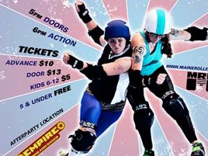 Roller Derby Poster: April 2011
