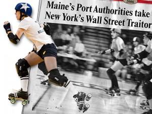 Roller Derby Poster: June 2010
